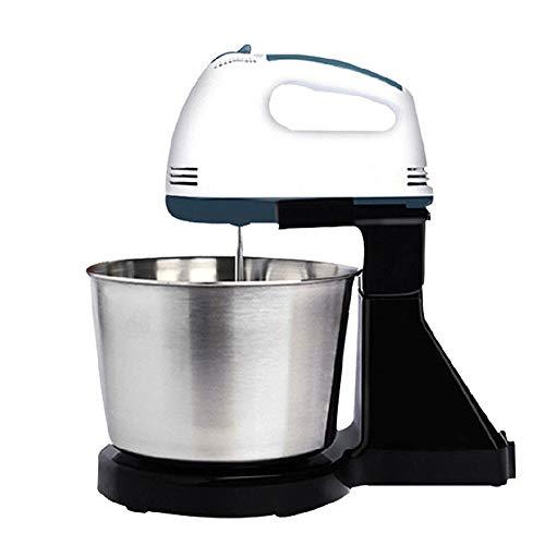 QWERTOUY Mixer Afneembare tafelstandaard taart kneedmachine hand egg beater mixer bakken slagroom machine