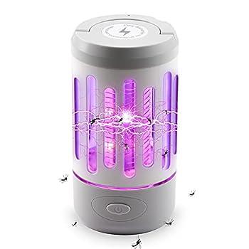 DEWEL Lanterne de Camping LED Lampe de Camping pour Intérieur et Extérieur Lampe Anti Moustique Portable Moustique Tueur Lampe Un Incontournable des Séjours en Camping