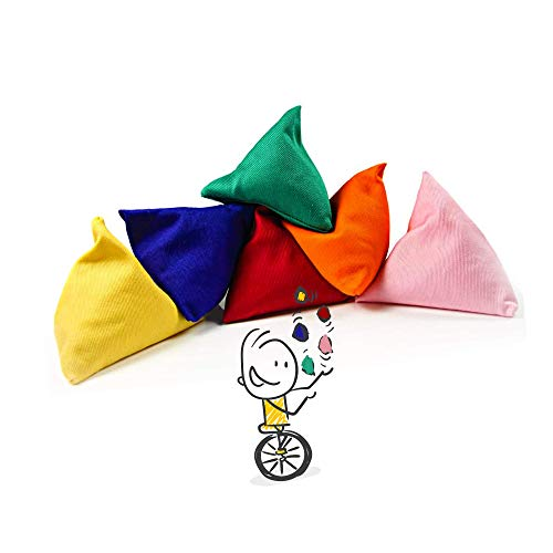 5 x Tri-it Juggling Bean Bags by Juggle Dream