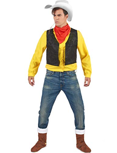 Kostüm Lucky Luke für Erwachsene L