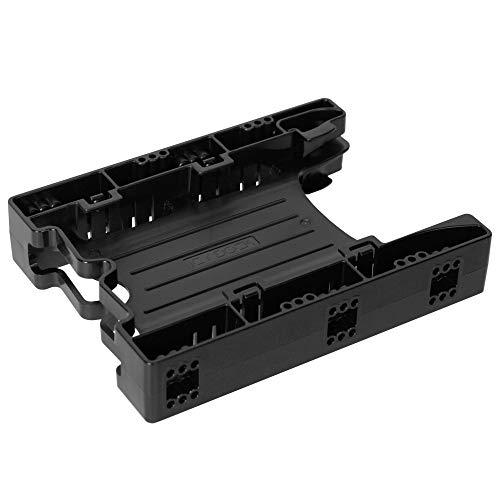 ICY DOCK Einbaurahmen für 2X 2,5 Zoll (6,4cm) SSDs/HDDs in 1x 3,5 Zoll (8,9cm) EZ-Fit Light MB290SP-B
