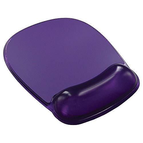 STAPLES 811731 Gel Mouse Pad/Wrist Rest Combo Purple (18265)