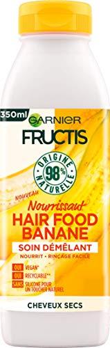 Garnier Fructis Hair Food Démêlant Nourrissant à Banane pour Cheveux Secs 350 ml C6345200
