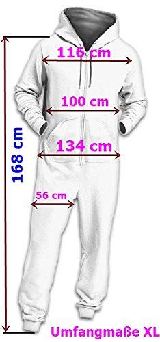 Crazy Age Jumpsuit Renntier Motiv Elefanten Design Overall Indianstyle (Schwarz (601), S=36) - 6