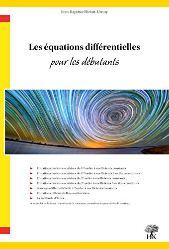 Les équations différentielles pour les débutants
