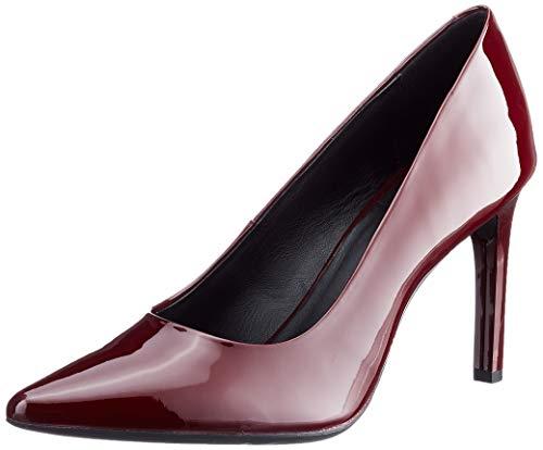 Geox D Faviola C, Zapatos de Tacón Mujer, Rojo (Bordeaux C7005), 40 EU