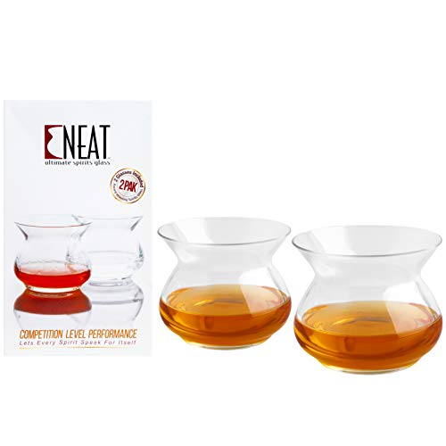 The NEAT Glass Official Competition Judging Glass 2 Pack Clear