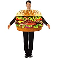 NiQiShangMao Adulto Hot Dog Hamburguesa Pizza Cerveza Queso Chip Comida Taco Disfraces Carnaval Hombres Mujeres túnica Fiesta de Halloween Cosplay Disfraz