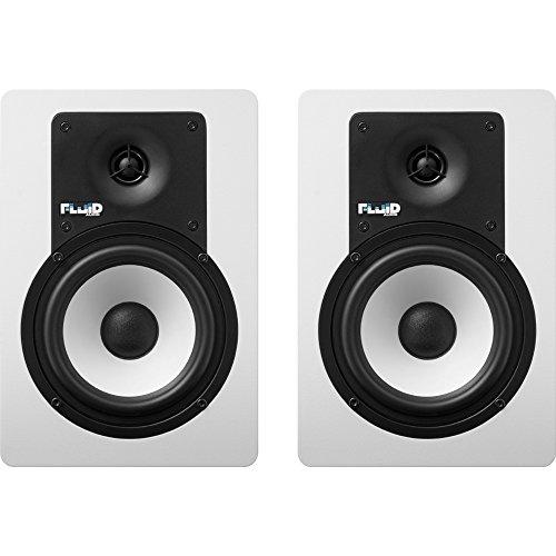 Fluid Audio C5W Studio Monitores Color Blanco