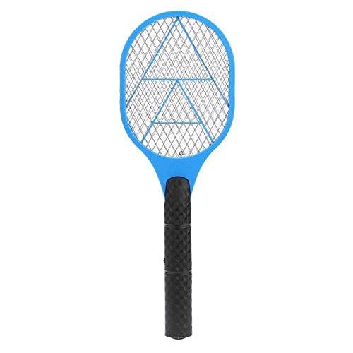 LinZX Zanzara elettrica swatter zanzara della Mosca Pest Control Reject Racket di Insetto Repellente Trappola Swatter,Blue