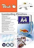 Peach Laminating Pouches A4, 100 Mic, PP500-02, 100-pack