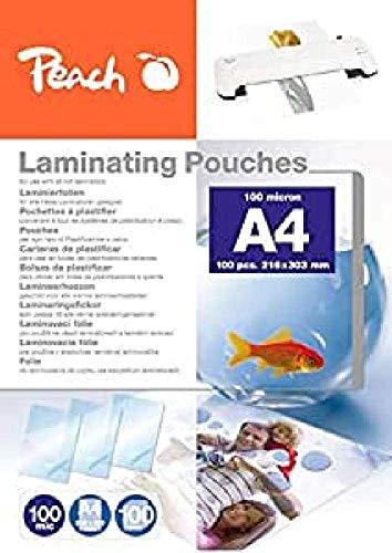 Peach PP500-02 Laminierfolien A4, 100...
