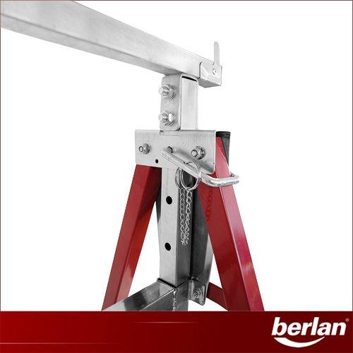 Berlan Klappbock – BKB200-130, höhenverstellbar - 2