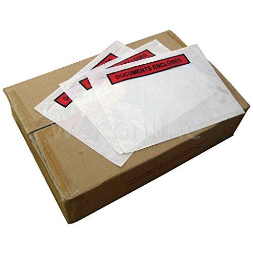 Tenzalope 49331 - Sobre para uso general, paquete de 1000 unidades, color blanco