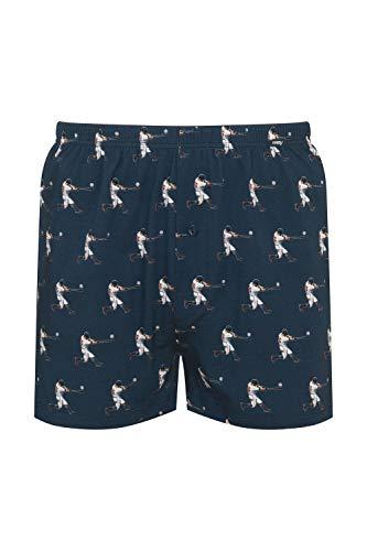 Mey Club Coll Club Coll. Herren Boxer-Shorts Blau 5