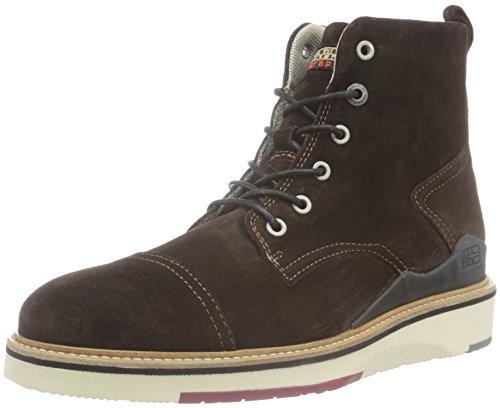 NAPAPIJRI FOOTWEAR Herren C4 Combat Boots, Braun (Dark brown N46), 46 EU