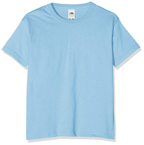Fruit of the Loom Boys Value Weight T Shirt 61 033 0 Blue 92 cm