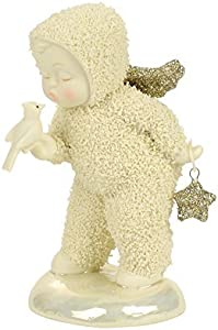 "Department 56 Snowbabies ""A Kiss For Luck"" Porcelain Figurine, 3.94"""