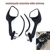 Motorrad-Rückspiegel, integrierter Blinkerspiegel für Suzuki GSXR600 GSXR 600 GSXR750 GSXR 750...