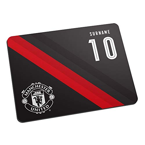 Official Licensed Manchester United FC Stripe Mouse Mat