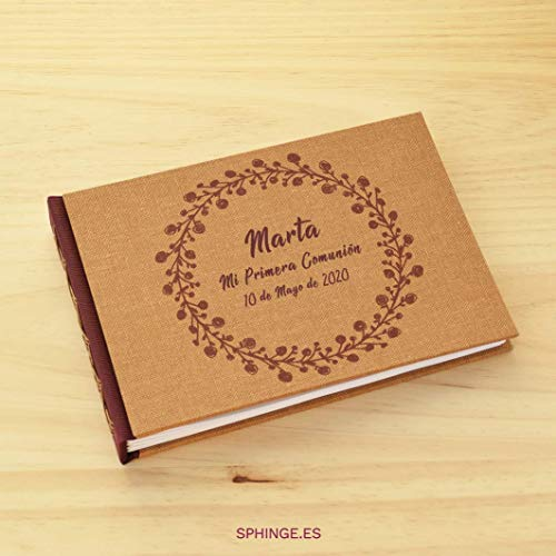 SPHINGE – Libro firmas personalizado tu nombre fecha