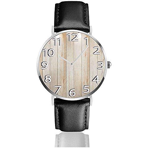 Reloj Reloj de Pared de Madera con lámpara Bombilla Focos Reloj de...