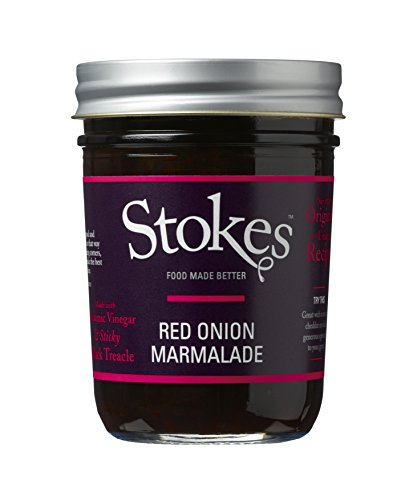 Stokes - Red Onion Marmalade - 265g (Pack of 3)