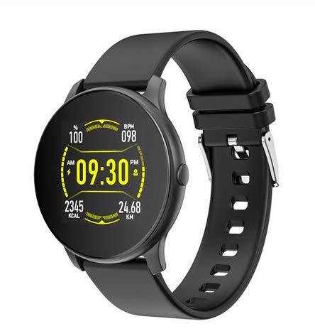LIjieganxin Fitness Tracker Uhr IP67 wasserdichte Übung Blutdruck und Blutsauerstoff Monitor Multisport Modi Anti-Verlust Erinnerung Fernbedienung Kamera Sitzende Erinnerung Schrittzähler Stoppuhr