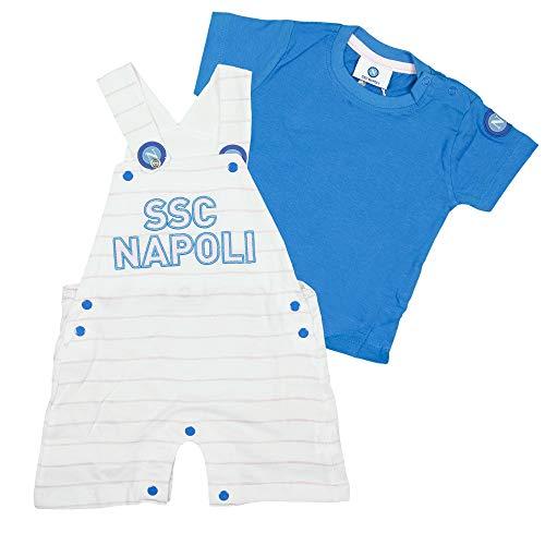 SSC NAPOLI P19i1n90574 Ensemble pour Enfant Unisexe 0-24, Unisexe - Bébé 0-24, P19I1N90574, Rose, 3