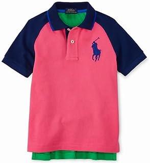 Polo Ralph Lauren(ポロラルフローレン)ビッグポニー スポーティー ポロシャツ 半袖(青色?ピンク?黄色) [並行輸入品]