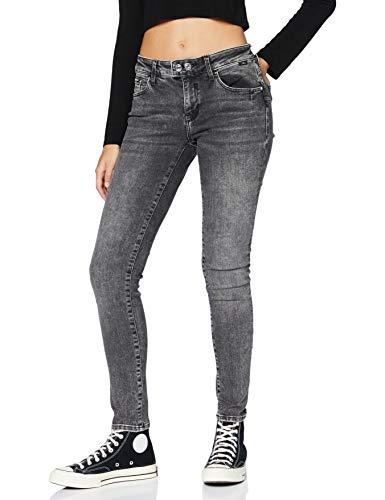 Mavi Damen Adriana Jeans, Smoke Random Glam, 27W / 32L