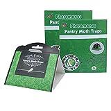 Greenty 12X Trampa para Polilla de despensa - Medios de protección contra Las polillas en la Cocina...