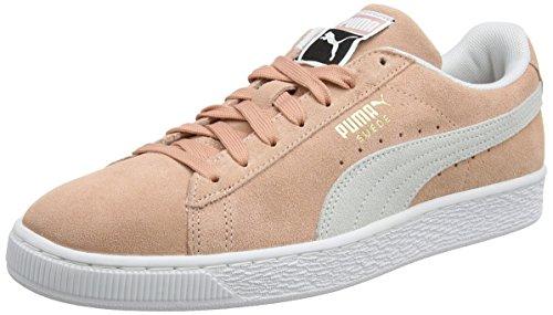 PUMA Unisex Suede Classic Sneaker, Muted Clay White, 36 EU