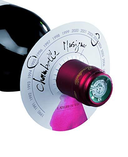 L'Atelier du Vin 095043-4 80 Beschriftungsdisketten (Jahrgang, Trinkreife, Bezeichnung)
