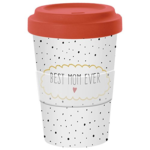 PPD Coffee to go Becher aus Bambusfasern 400ml (Best Mom)