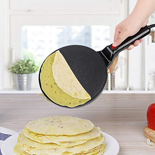 Non-stick Electric Crepe & Pancake maker, Handheld Iron Electrical Pancake...