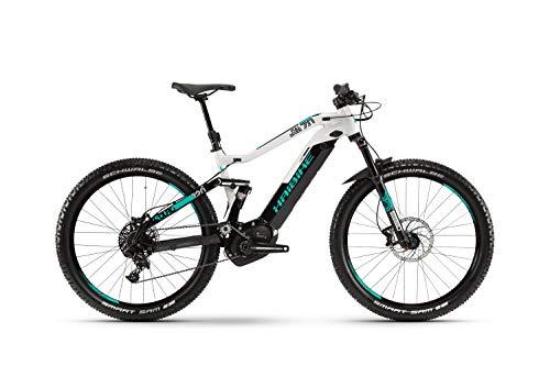 Haibike Sduro FullSeven 7.0 27.5'' Pedelec E-Bike MTB schwarz/grau/türkis 2019: Größe: M*