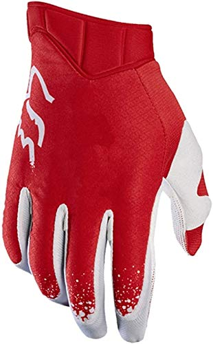Guantes Térmicos Impermeables Guantes para Motocicletas Mountain's Mountain Mountain Lickding Gloves Highway Bicycle Full Finger No-Slip Airmin Pad Gloves Gloves (Color : 2, Size : L)