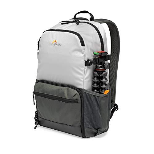Lowepro LP37238-PWW Truckee BP 250 LX Outdoor-Kamerarucksack, fasst 15-Zoll-Tablet, für Einstiegs-DSLR/spiegellose Kamera, Sony, Canon, Nikon, 1-2 Objektive, Gimbal, Drohne, DJI, Osmo, Mavic, hellgrau