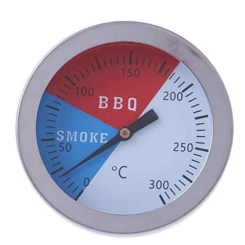 ZHIRCEKE BBQ-Fleisch-Thermometer, Premium-Küchen-Back-Thermometer, wasserdichtes Grill-Thermometer für BBQ-Grillküche Küche Raucher Kochen mit Sonde 52mm