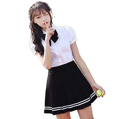 BeFur Uniforme scolastica giapponese Cosplay anime per ragazze,M