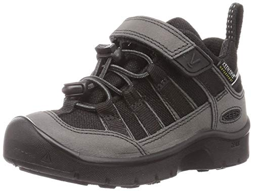 KEEN Unisex-Kinder HIKEPORT 2 Low WP Walking-Schuh, Black/Black, 25 EU