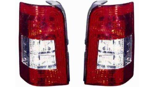 Preisvergleich Produktbild Fahrer hinten rechts PEUG. PARTNER II 2P (03 > 08) ohne Fassung weiß rot 05 > 08