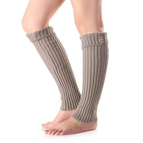 Crystallly Dames effen gebreide sokken toppers mouwen opladingen been elastische skinny eenvoudige stijl mode normale lak