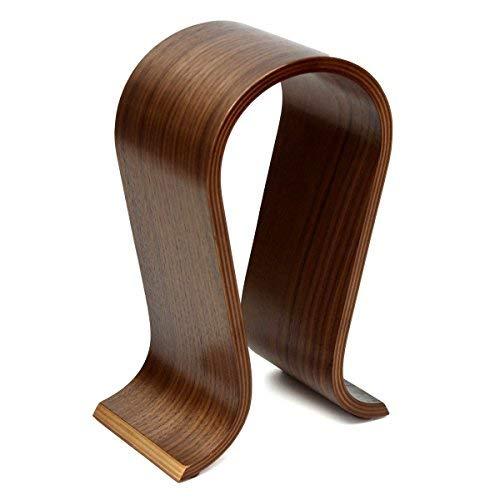 TCATEC ヘッドフォンスタンド 木製 温かみを感じる ゲーミングヘッドセットスタント ウッド (S1)