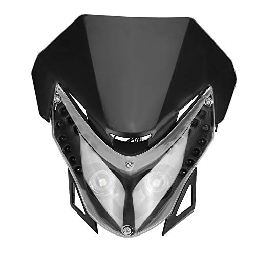 Broco DC12V Dirtbike LED-koplamp sport individueel bekledingslicht universeel
