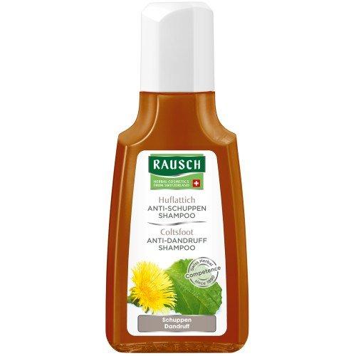 Rausch Huflattich Anti-Schuppen Shampoo (wirkt nachhaltig und mild gegen Schuppen, ohne Silikone und Parabene - Vegan), 1er Pack (1 x 40 ml)