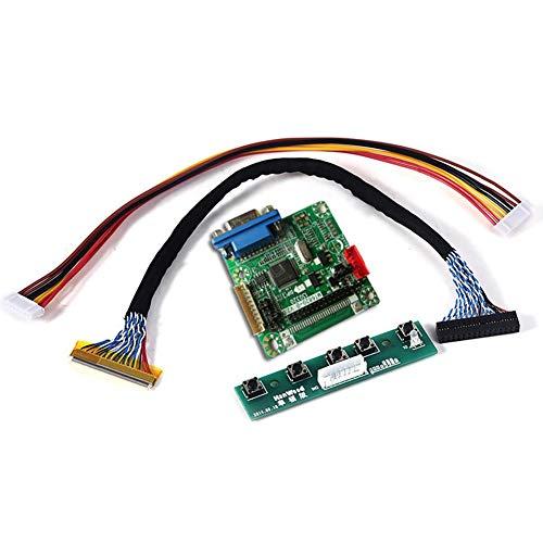 SADA72 Bildschirmtreiber-Controller-Karte, Professioneller Bildschirmtreiber-Kit-Controller 6820 DIY-Modul Universal-Bildschirmtreiber-Karte Montor