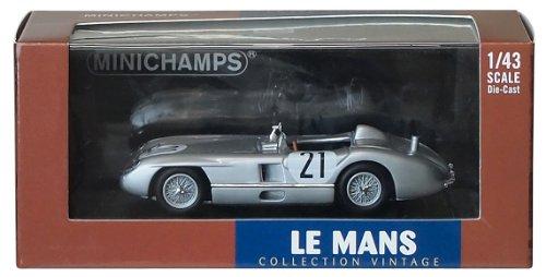 Minichamps 432553021 - Mercedes-Benz 300 SLR - bel/Simon, schaal: 1:43