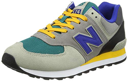 New Balance 574 ML574MB2 Medium, Zapatillas Hombre, Grey (Grey Oak MB2), 40.5 EU